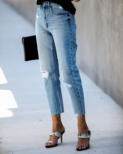 Grant High Rise Relaxed Denim - FINAL SALE