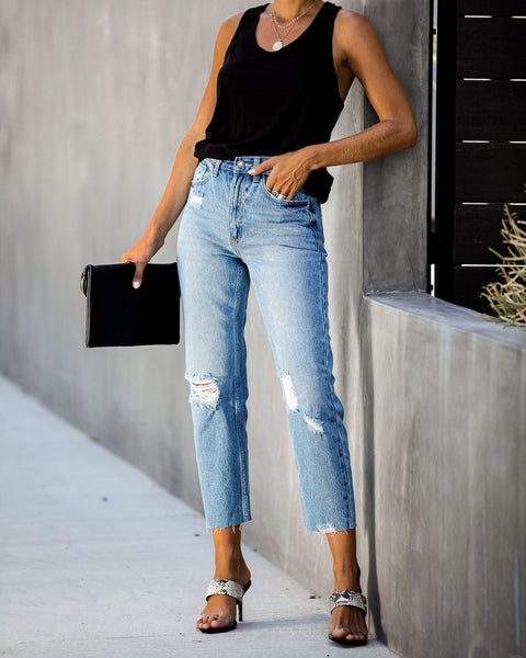 Grant High Rise Relaxed Denim