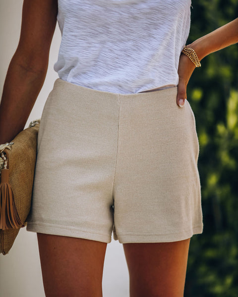 Palmdale High Rise Knit Shorts