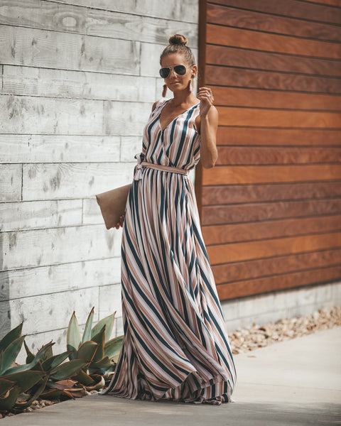 Katriane Sleeveless Diana Maxi Dress - FINAL SALE