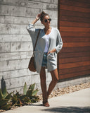 Keeping Calm Pocketed Knit Cardigan