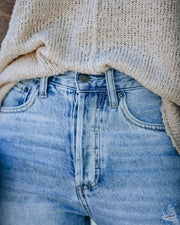 Dani Distressed High Rise Denim view 4