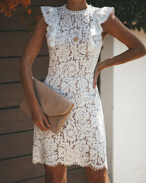 Unveiled Lace Dress