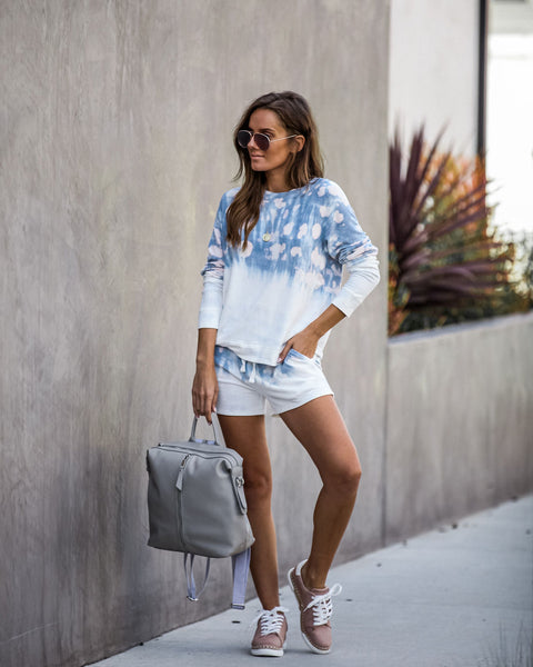 West Hollywood Tie Dye Knit Top