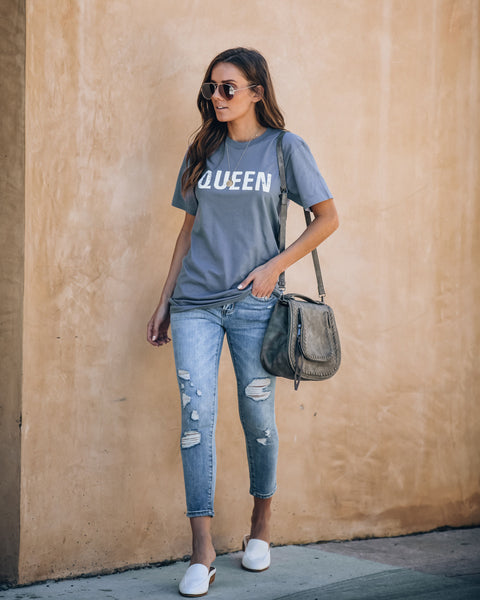 Crown Me Queen Cotton Tee