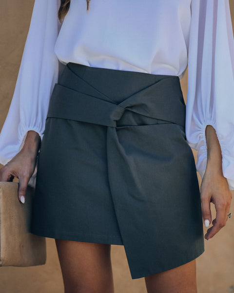 Twirl Me Cotton Mini Skirt - FINAL SALE