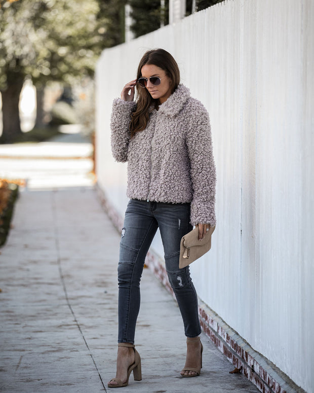 Hats Off To You Faux Fur Jacket   - FINAL SALE