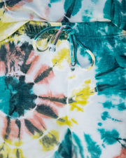 Darcie Cotton + Modal Blend Pocketed Tie Dye Shorts - FINAL SALE view 4
