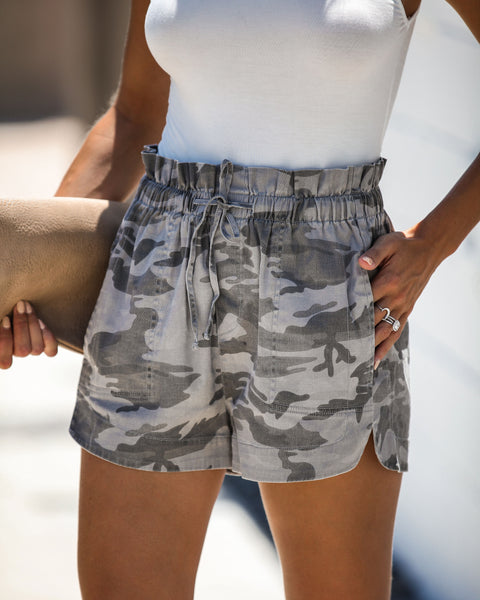 Hunter Cotton Pocketed Camo Shorts
