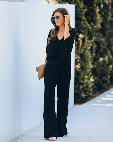 That's Amore Pocketed Jumpsuit - FINAL SALE