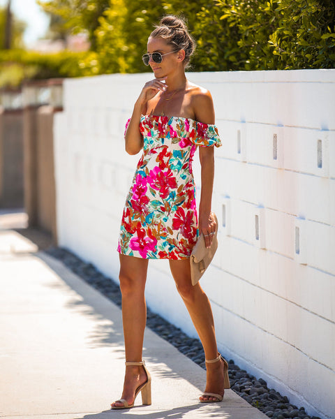 Tropicana Babydoll Dress