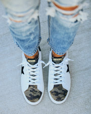 Protocol Perforated Camo Sneaker