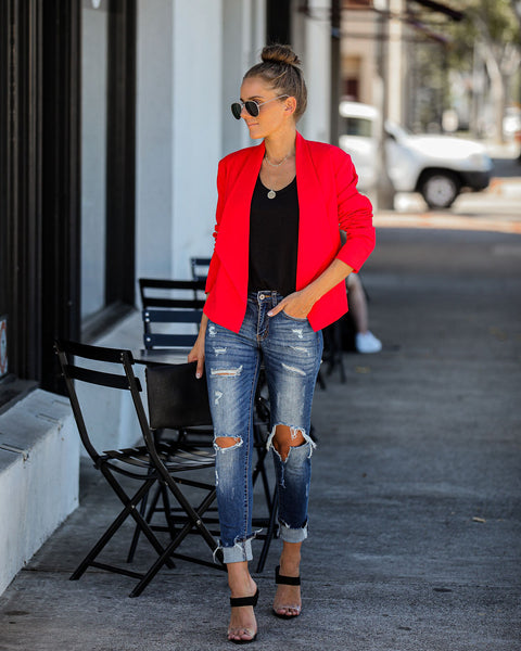 Robust Asymmetrical Blazer - FINAL SALE