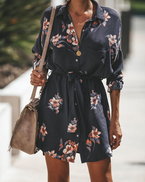Righteous Button Down Shirt Dress