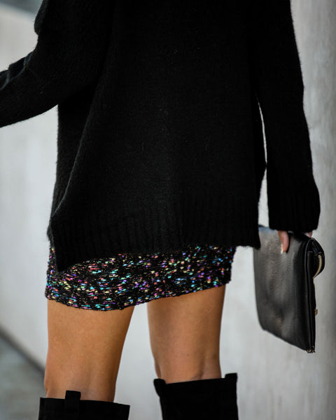 Barca Tweed Shimmer Mini Skirt  - FINAL SALE