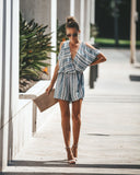Hyland Park Cold Shoulder Romper