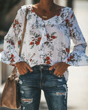 Among The Wildflowers Eyelet Blouse - FINAL SALE