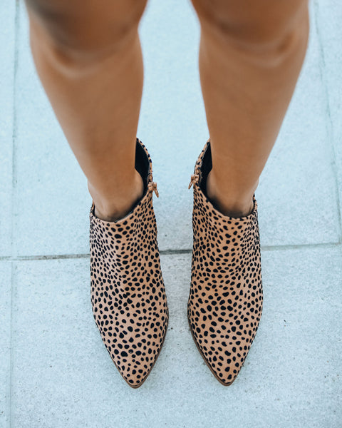 Zealous Cheetah Bootie