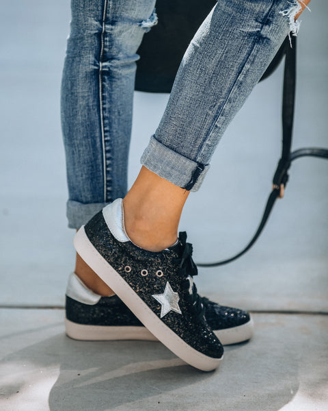 Center Stage Glitter Sneakers