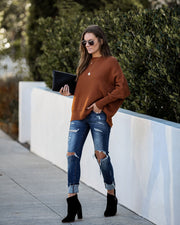 Oh My Cozy Knit Sweater