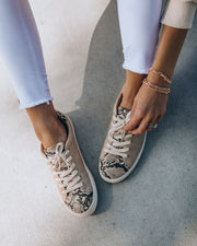 Impulse Faux Leather Python Sneakers view 10