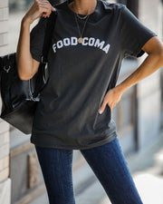 Food Coma Cotton Tee  - FINAL SALE