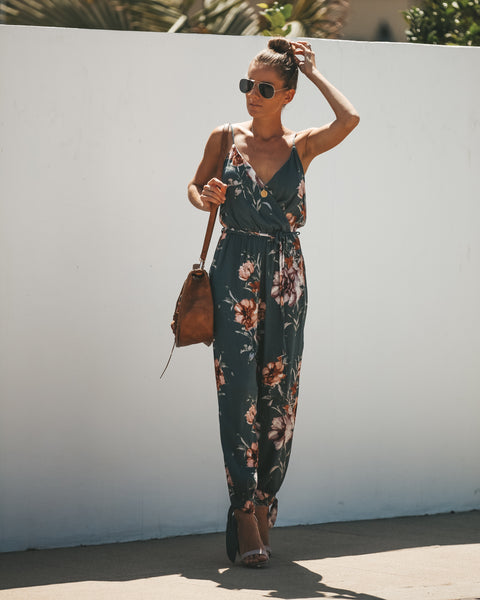 One More Time Pocketed Jumpsuit - FINAL SALE