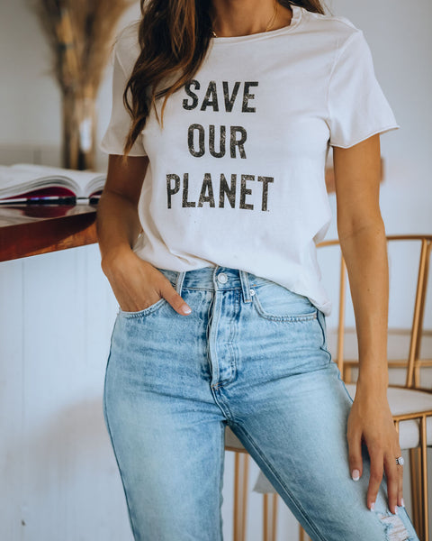 Save Our Planet Cotton Tee