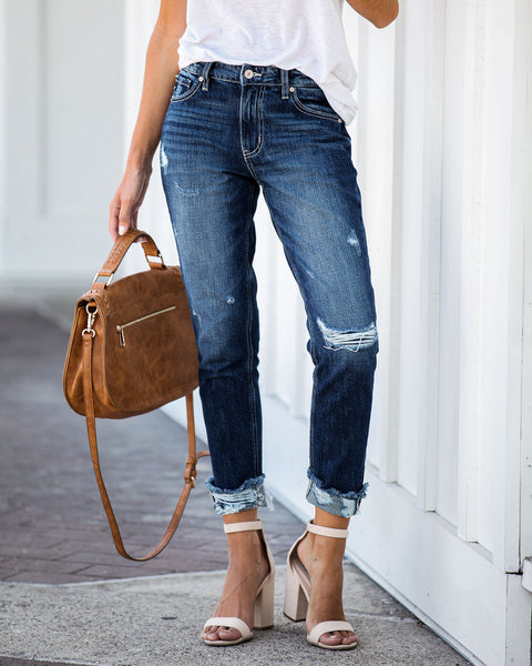 Micah High Rise Boyfriend Denim