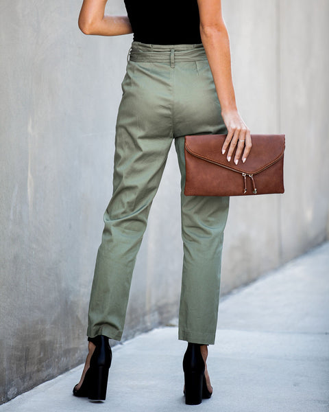Jeremiah Cotton Pocketed Tie Pants - FINAL SALE