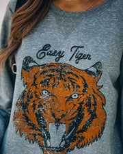 Lightweight Cotton Blend Easy Tiger Pullover