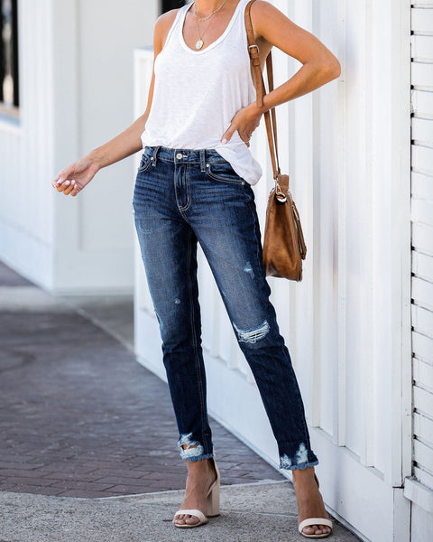Micah High Rise Boyfriend Denim - FINAL SALE
