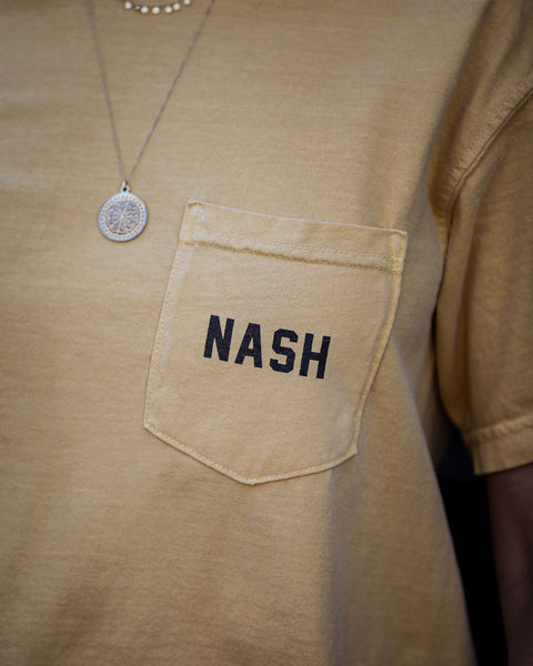 Nash Cotton Pocket Tee