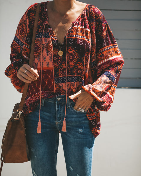 Hypnotic Boho Blouse