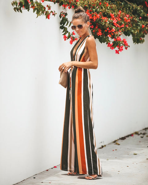 Creole Striped Jumpsuit