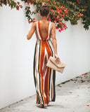 Creole Striped Jumpsuit - FINAL SALE