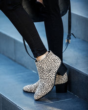 Near And Far Heeled Cheetah Bootie - FINAL SALE