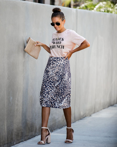 You're Purr-Fect Midi Skirt