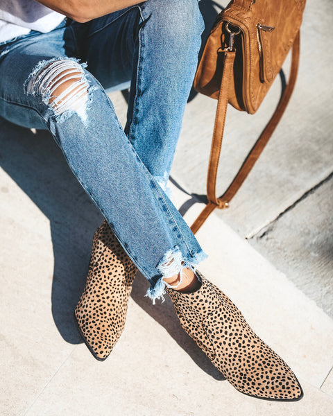 Take The Leap Leopard Bootie