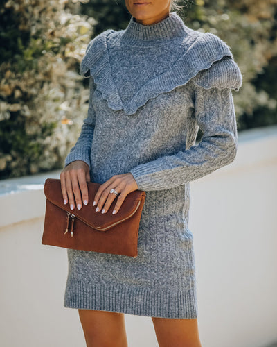 Reason For The Season Knit Sweater Dress