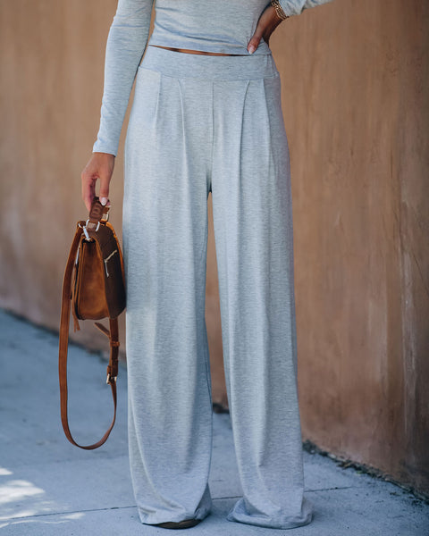 Los Angeles Wide Leg Knit Pants