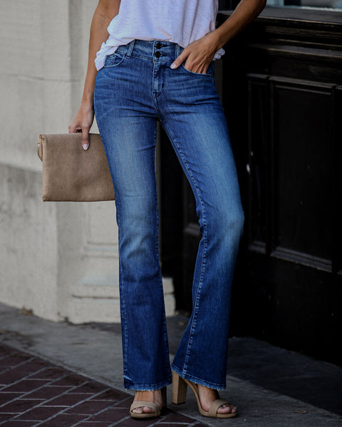 Tonya High Rise Bell Bottom Denim - FINAL SALE