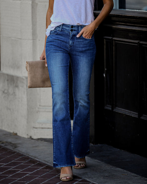 Tonya High Rise Bell Bottom Denim