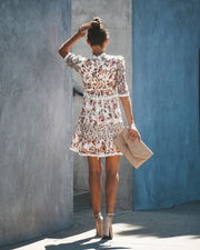 L'Amore Lace Statement Dress
