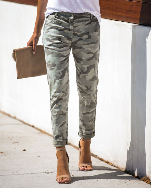 On Point Camo Chino Pants