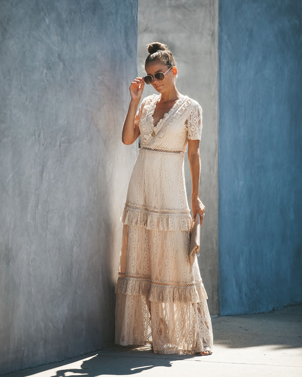 96957a05280 Detail Product. ← Home - DRESSES - Endless Tiered Lace Maxi ...