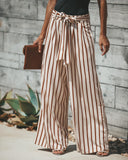 Cream Of The Crop Pocketed Palazzo Pants