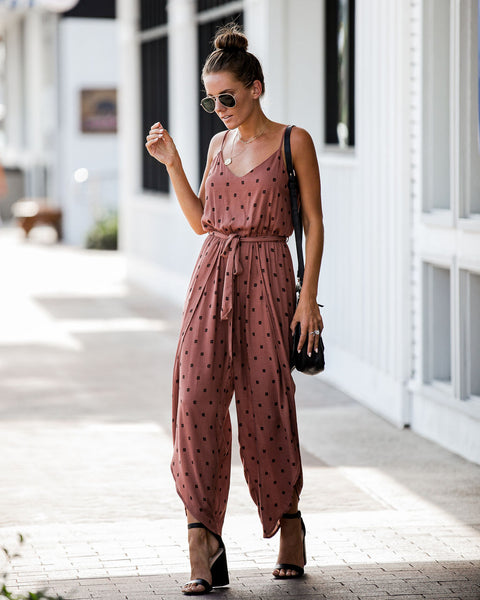 Design For Life Wrap Pant Jumpsuit - FINAL SALE