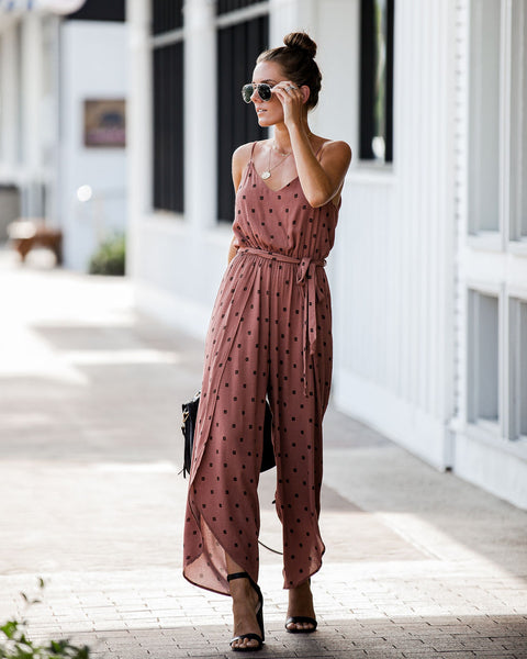 Design For Life Wrap Pant Jumpsuit