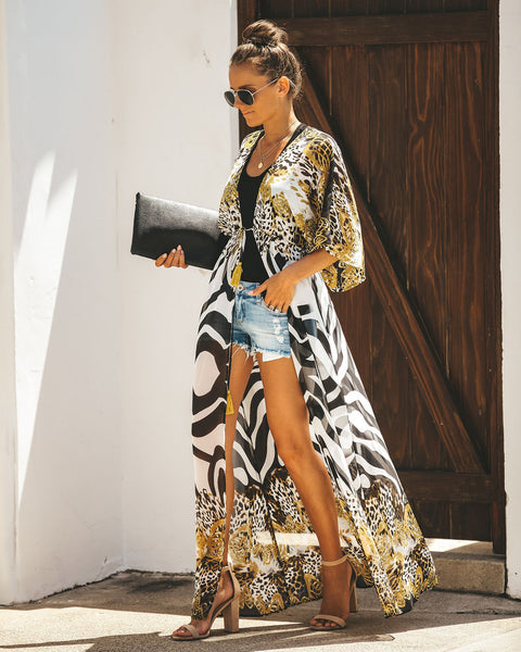 Queen Of The Coast Duster Kimono